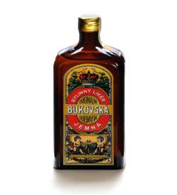 Bukovská Jemná 0,5l 35%, přírodní bylinný likér harmonické chuti